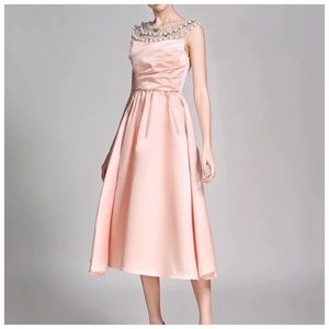 Dresses & Skirts - TORIE Gorgeous Blush Pink Silk Cocktail Dress